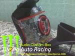 Audio Box Custom Akrilik Motor Matic